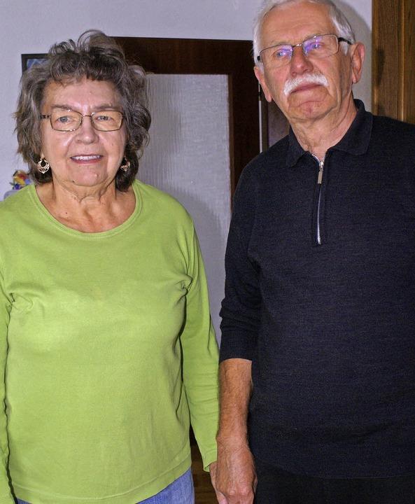 Margot und Rainer Sonnek sind  seit 50 Jahren verheiratet.    Foto: Probst