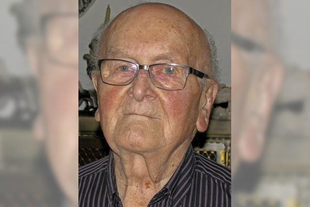 Erich Ruh ist 90