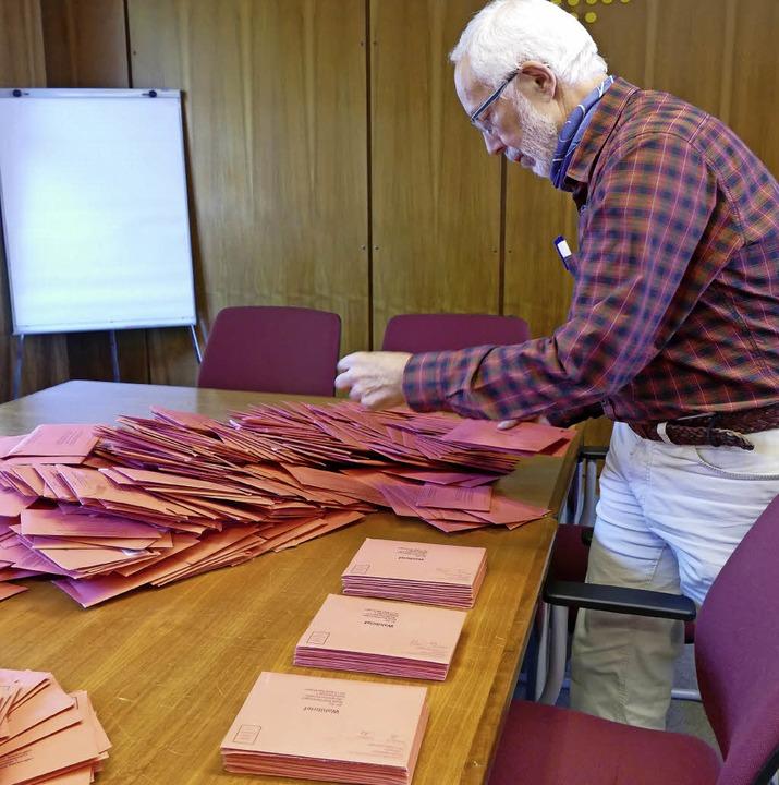 Die Bundestagswahl am Sonntag ist alle...chsten planmäßigen Wahl in Ruhestand.     Foto: Valeria Perrupato