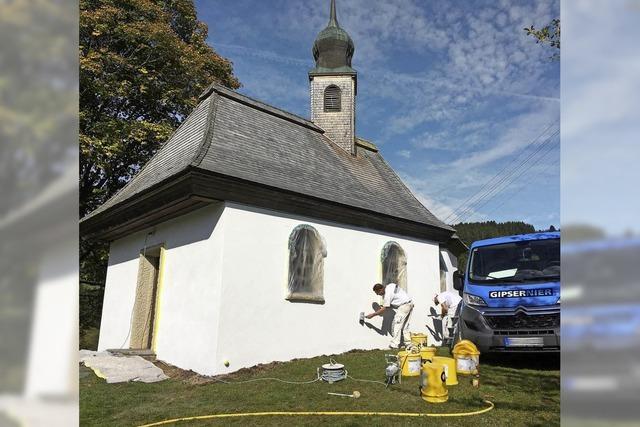 Farbe für die Josefs-Kapelle
