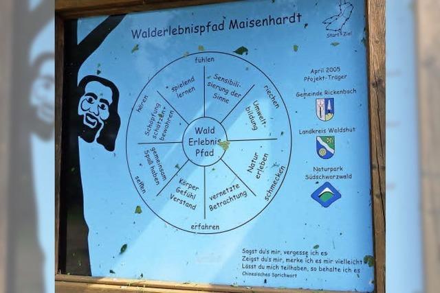 Maisenhardt-Joggele führt Fremde in die Irre
