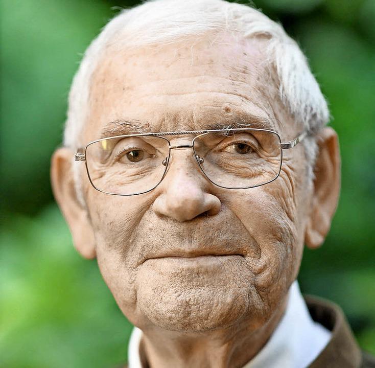 Der Älteste: Josef Manz  | Foto: dpa