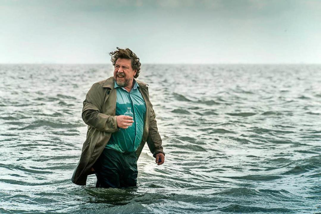Überflutet: Armin Rohde  | Foto: dpa