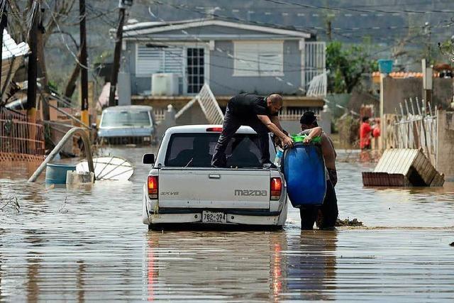 Nach dem Hurrikan: Staudamm auf Puerto Rico droht zu brechen