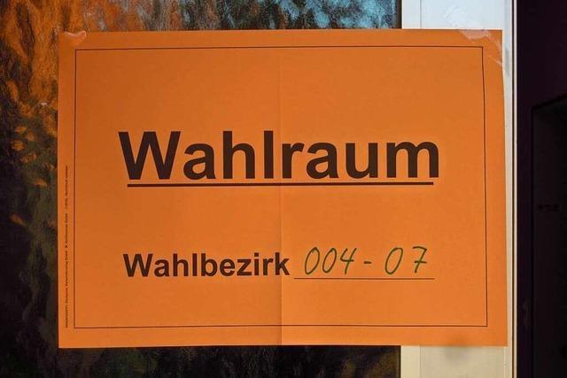 Bürgermeisterwahl in Herbolzheim: zweiter Wahlgang nötig