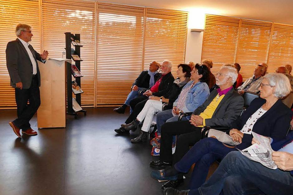 Die Gäste im Gespräch mit BZ-Herausgeber Thomas Hauser (links) (Foto: Rebecca Rudolph)