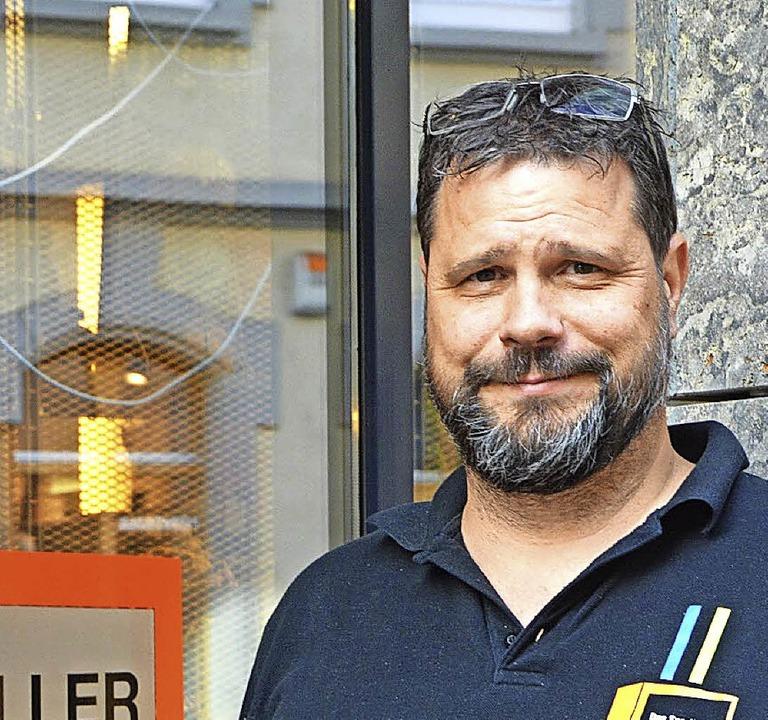 Peter Vogl, Inhaber von Sportmüller  | Foto: Barbara Ruda
