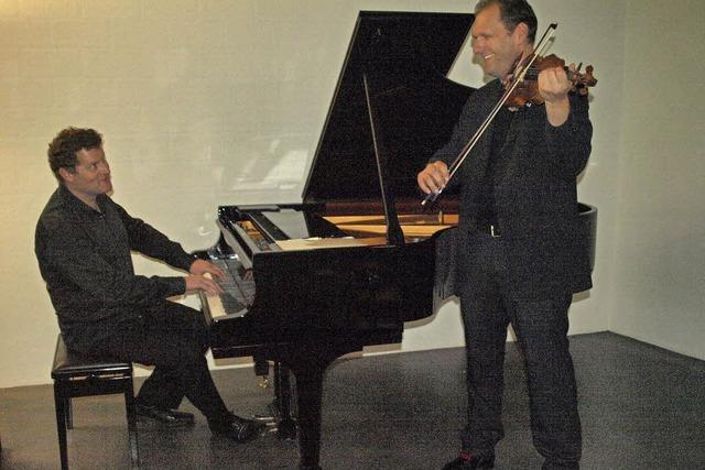 Felix Borell und Marcin Grochowina in Friedenweiler