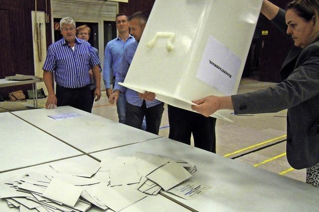 Mehr Wähler als im Kreis und Bund