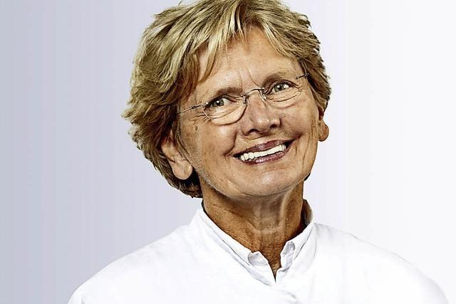Dr. Sabina Kappos spricht im Kreiskrankenhaus Lörrach über gesundes Altern