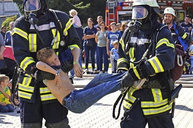 Einblicke in die Arbeit der Feuerwehr