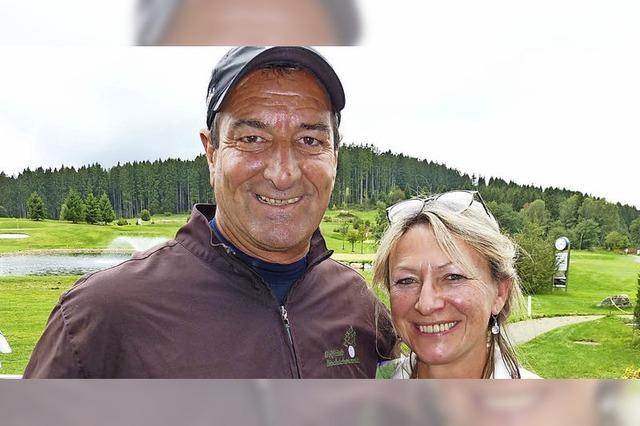 Ehepaar Russo mit einem Doppelschlag