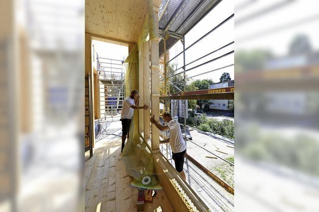 Stadt will Quote für Holzbauten