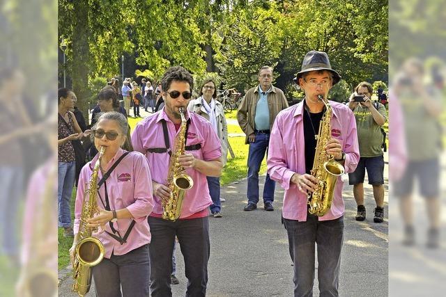 Live-Jazz im Stadtgarten