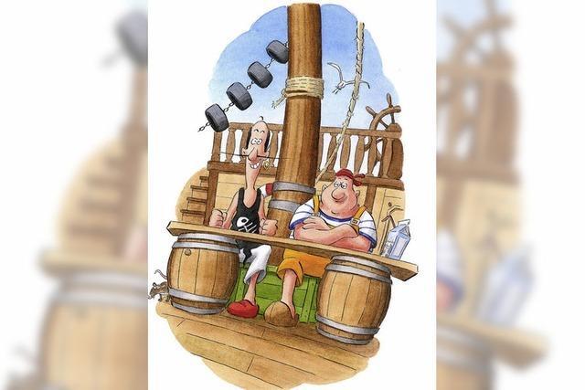 Der Pirat im Kochtopf