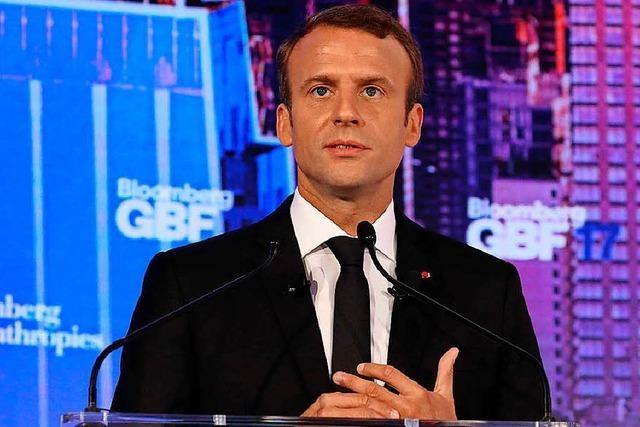 Macron investiert Milliarden in Reformpolitik
