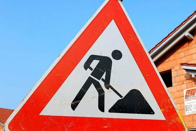 Lörrach: Radfahrerin verletzt sich bei Unfall in Baustelle
