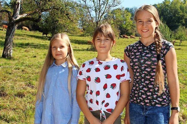 Drei Mädchen aus Wiechs retten die Kuh