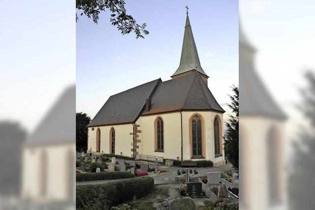 Gemeinde hilft bei Kirchensanierung