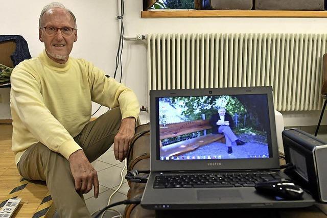 Philipp Brucker zu Gast im Koffer – posthum im Film