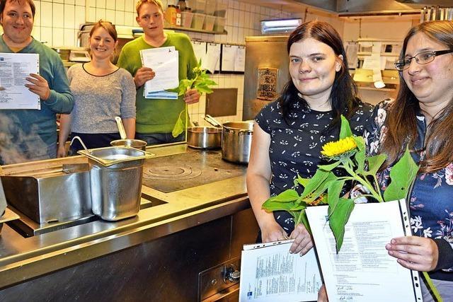 Zertifikate für neue Küchenexperten