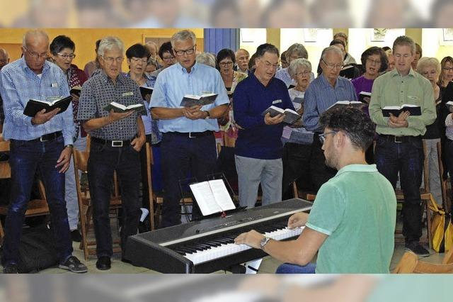 23 Chöre aus dem Dekanat singen gemeinsam