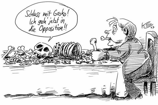 Der Neuanfang der SPD …