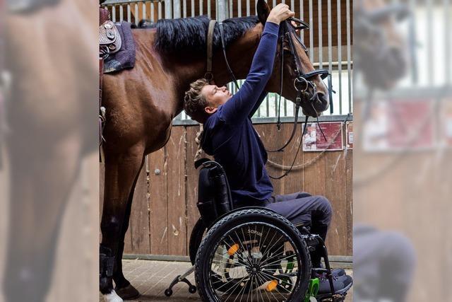 Menschen mit Handicap können erfolgreiche Reiter sein
