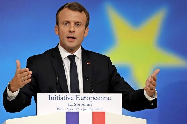 Macron startet EU-Initiative