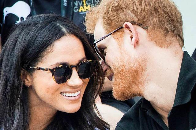Prinz Harry turtelt mit Freundin Meghan Markle