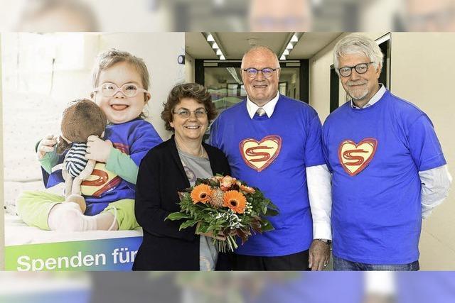 15500 Euro gehen an die Freiburger Kinderklinik