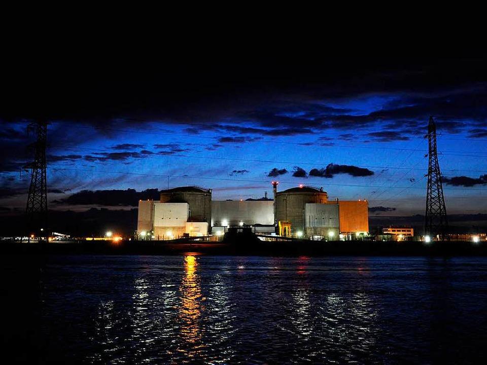 Düstere Aussichten: Das Atomkraftwerk ... Gefahr, zeigt eine neue Untersuchung.    Foto: AFP