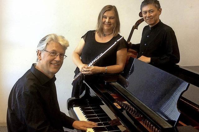 Musiker des Cyprian-Ensembles in Waldkirch