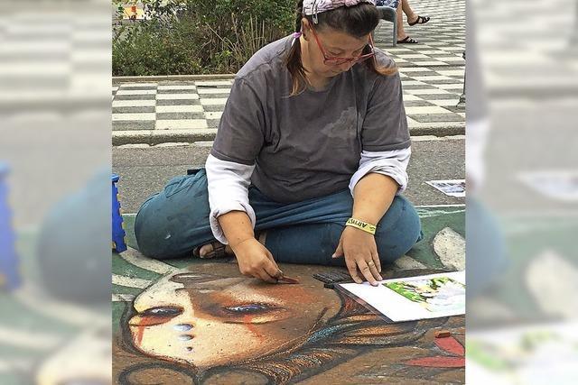 Straßenmaler sollen Waldkirch verzieren