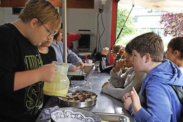 Schülerfirma in Lörrach kann wieder das Coolinario öffnen