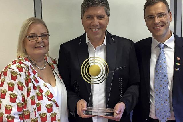Belgischer Radiopreis für Schlagerstar