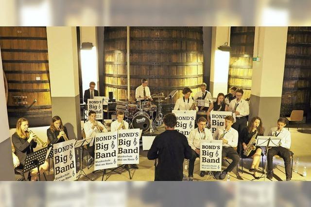 Bond's Big Band in der Fondation Fernet Branca