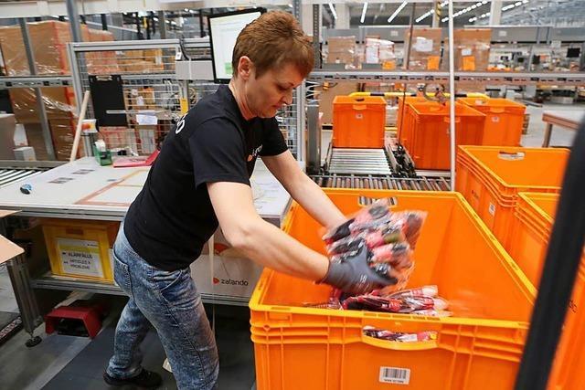 Zalando beschäftigt in Lahr 700 Mitarbeiter