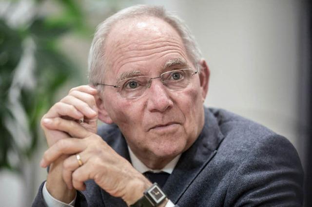 Neues Amt für Schäuble