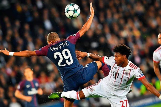 Münchner Defensive beim 0:3 bei PSG überfordert