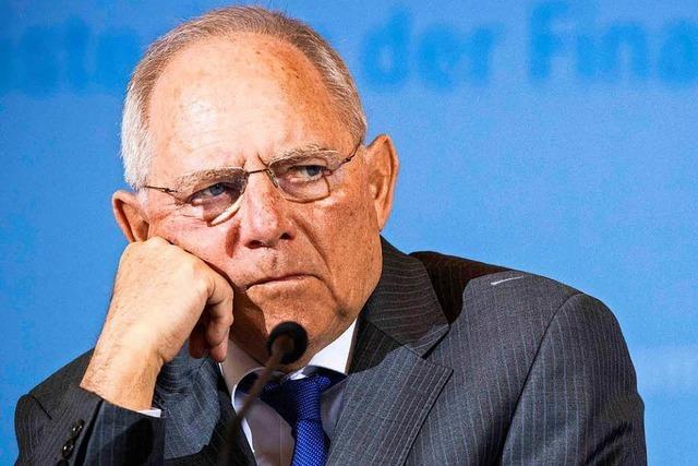 Schäuble ist das Opfer, das die Jamaika-Koalition ermöglichen soll