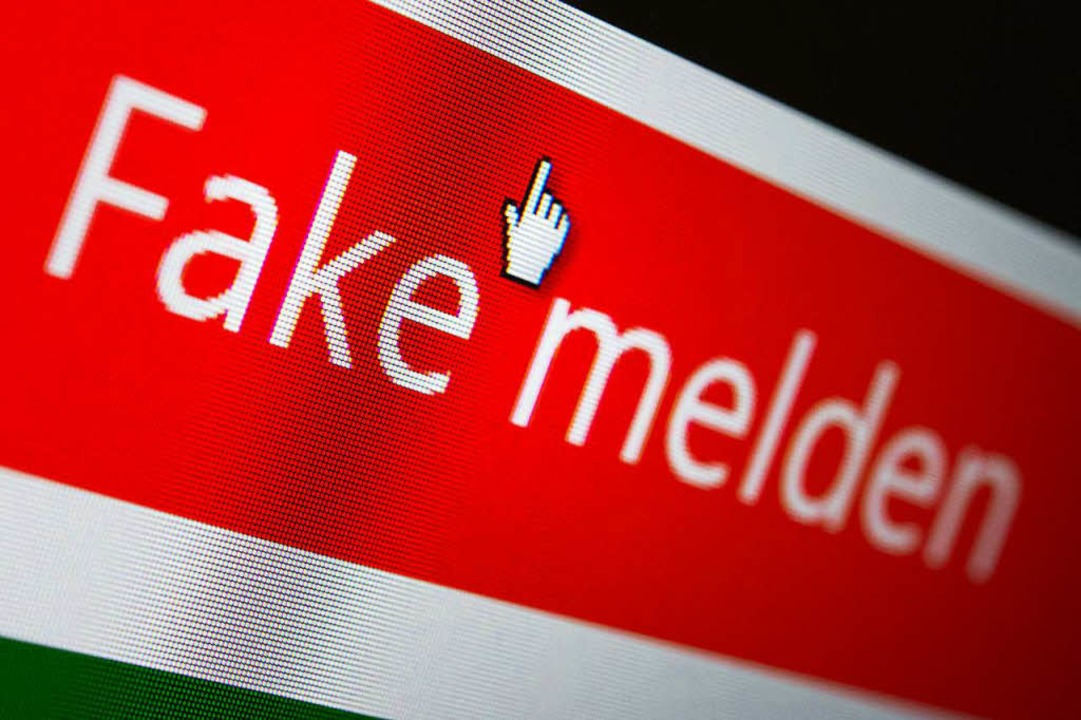 Bitte kein Fake!   | Foto: dpa