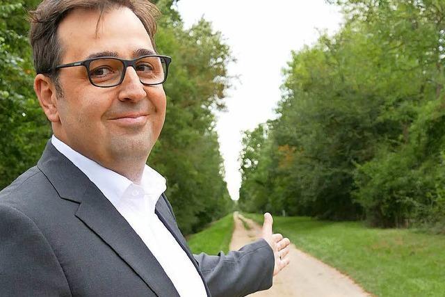 Ortsrundfahrt mit den Bürgermeisterkandidaten – diesmal mit Robert Franz