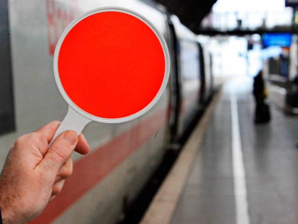 Die Schweiz belässt das Signal für das Herzstück noch auf Rot.  | Foto: dpa