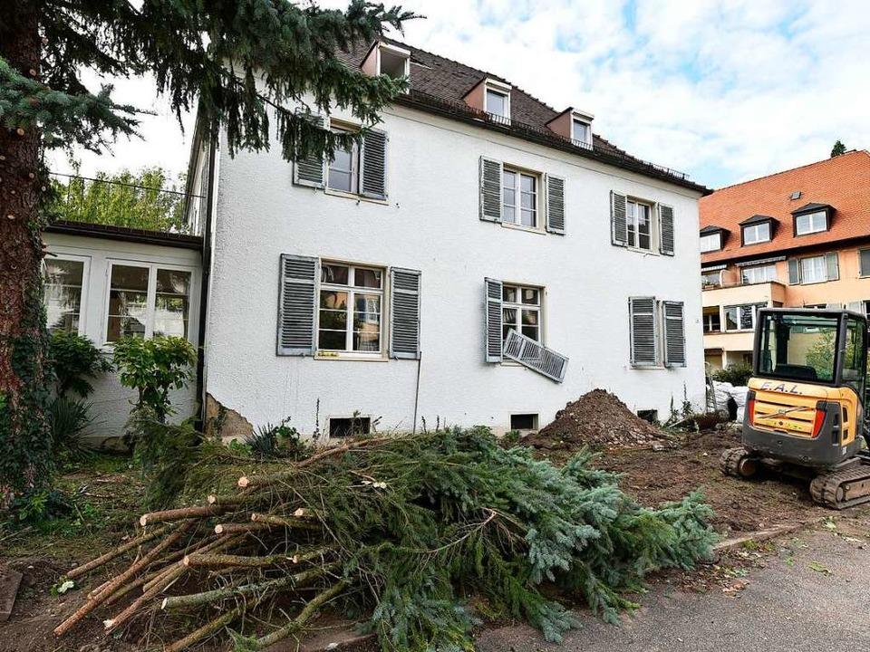 An der Erzherzogstraße wird ein weiter...e durch einen größeren Neubau ersetzt.  | Foto: Thomas Kunz