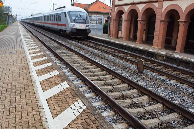 Laut Fachbüro sind in Kenzingen vier Gleise nötig