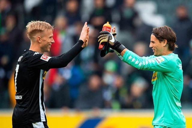 Gladbach und Frankfurt gewinnen zu Hause 2:1