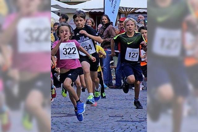 Ein Feiertag für rund 300 Läufer