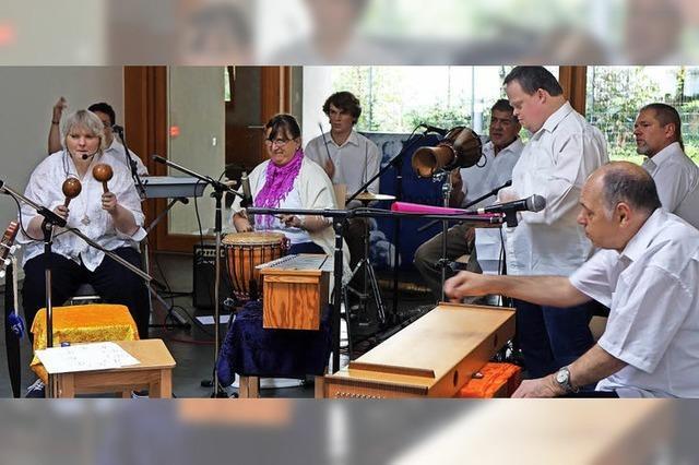 Profi und Laien musizieren vereint