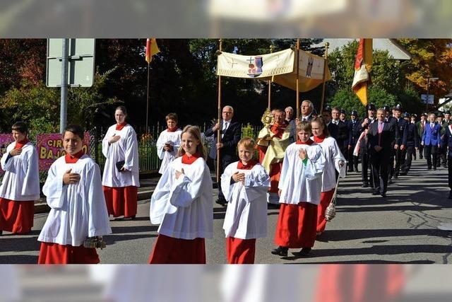 Rötenbach feiert seinen Kirchenpatron